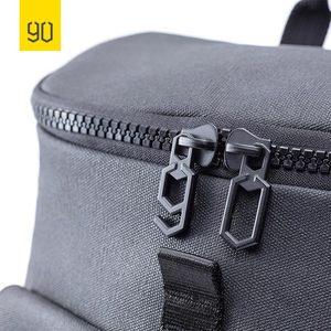 Image 2 - Nineygo 90FUN Fashion Chic plecak wodoodporny Bagpack mężczyźni kobiety tornister zakupy plecak na co dzień torba na laptopa duża pojemność