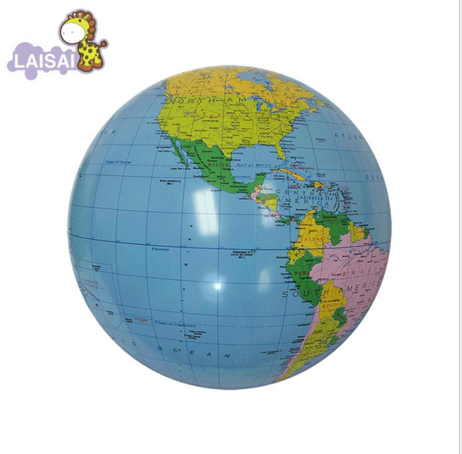 sale inflatable world globe teach education geography. Black Bedroom Furniture Sets. Home Design Ideas