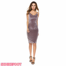 SXHIKEFOOT!!!  New Off-the-Shoulder Strapless Dress Slim Sexy Pack Hip