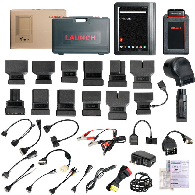 LAUNCH X431 Launch X431 V+ Wifi/Bluetooth Global Version Full System Scanner Two Years Free Update Online