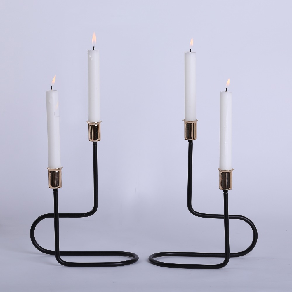 compare prices on modern candle holders online shoppingbuy low  -  a set latest modern stylish line shape candle holder for homeaccessories kitchen accessories candelabra