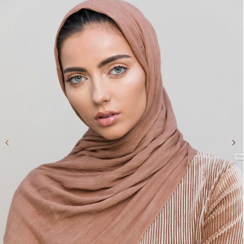 2019 NEW Women Modal Solid Color Jersey Muslim Head Scarf Shawls And Wraps Pashmina Bandana Female Oversizes Soft Hijab Stores