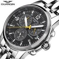 Guanqin esporte relógios masculinos marca de luxo natação relógio automático calendário 200m à prova dwaterproof água luminosa semana relogio masculino|Relógios esportivos| |  -