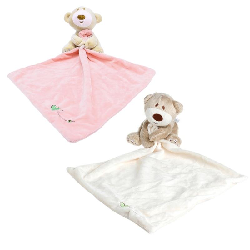 Baby Kids Comforter Washable Blanket Teddy Bear Soft Smooth Toy Plush Stuffed
