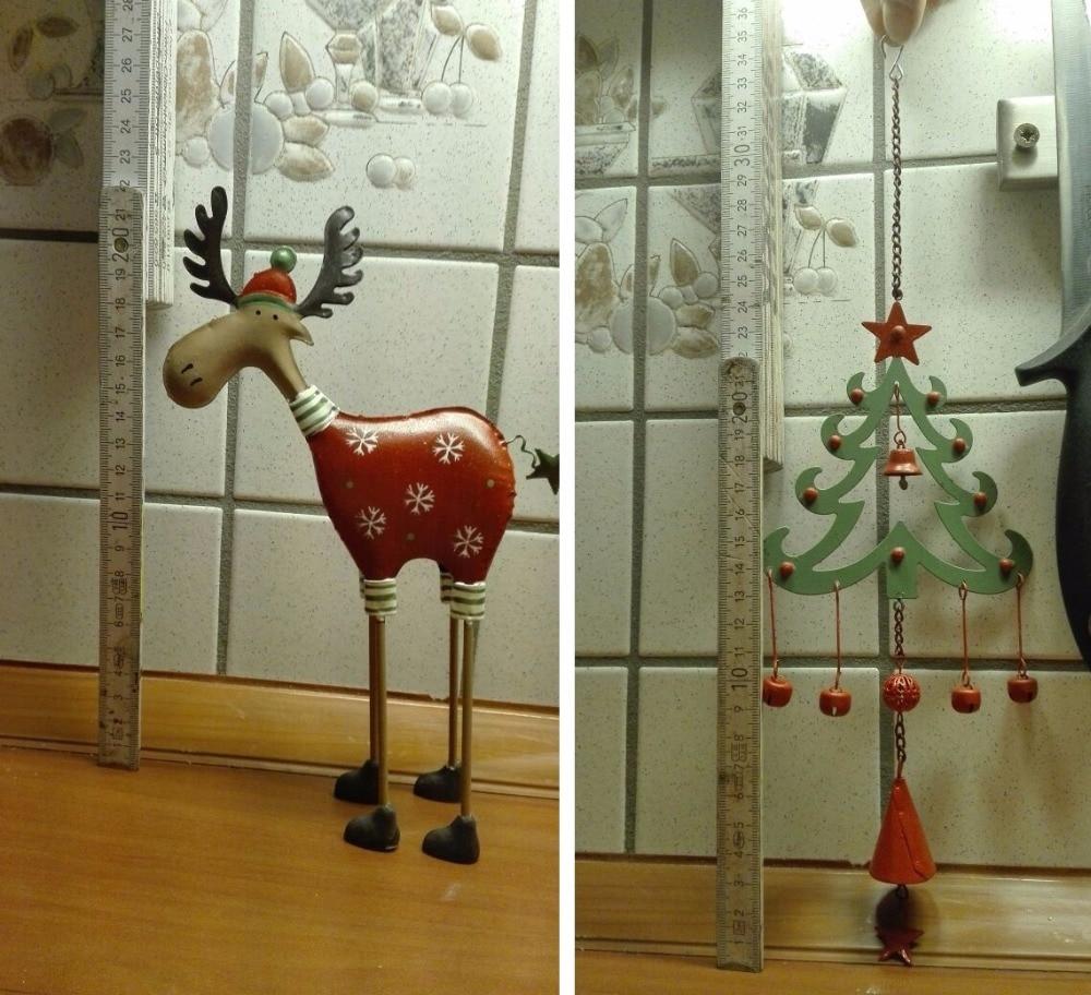 Gratis frakt, 2st / set, Jul Set Decoration Hängsmycke Julgran Elk - Heminredning - Foto 3