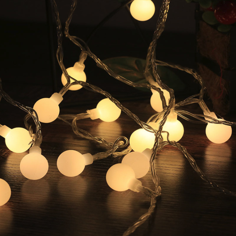 4.5M 30LED Light String Lamp Bulb Bedroom Dormitory Wedding Christmas Trees Decor EU Plug