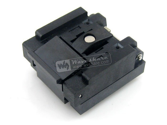 ФОТО QFN-48(56)B-0.5-01 Enplas QFN48 MLP48 MLF48  Test Socket Programming Adapter