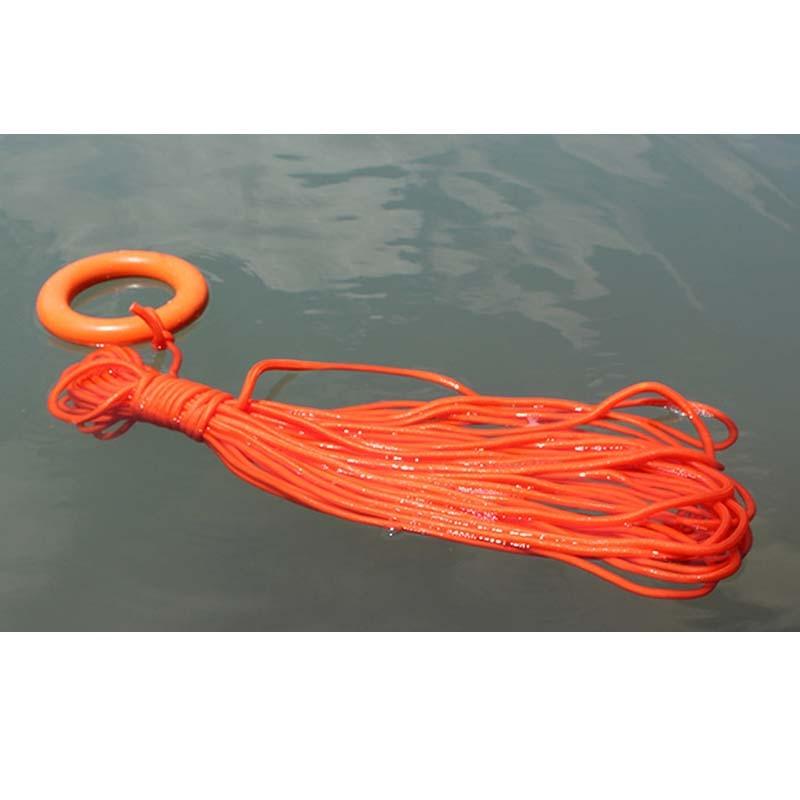 Hot Sale 30m Lifesaving Rescue Rope Lifeline Outdoor Sports Climbing Swimming Survival Emergency Equipment Self Defense Supplies