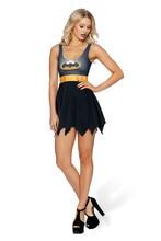 New Fashion Women's Dress Super Batman Beach Dresses