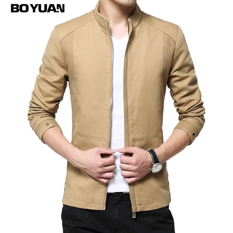 BOYUAN Man Jacket 2017 Brand Casual Mens Jackets And Coats Chamarras Para Hombres Men Clothes Fashion