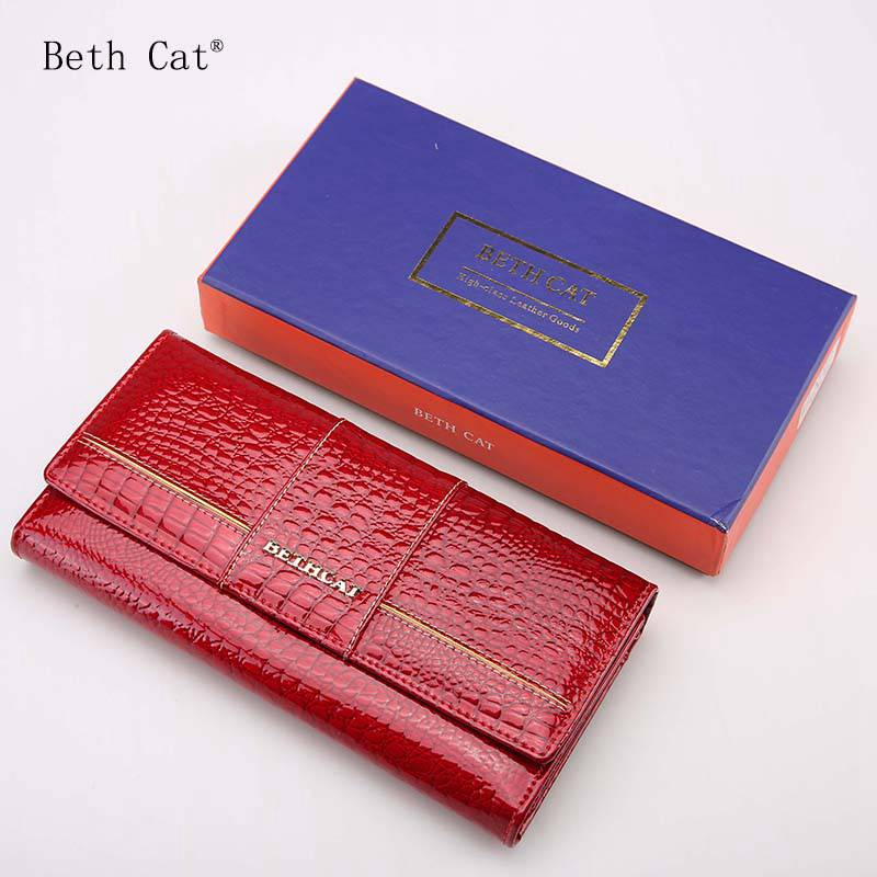 Women Wallets Long Wallets 2017 Fashion Wallet Women Genuine Leather Wallet Female Patchwork Womens Purse Coin Purses Holders 2017 latest women leather leaf long wallet female coin purse change clasp purse money bag card holders womens wallets and purses