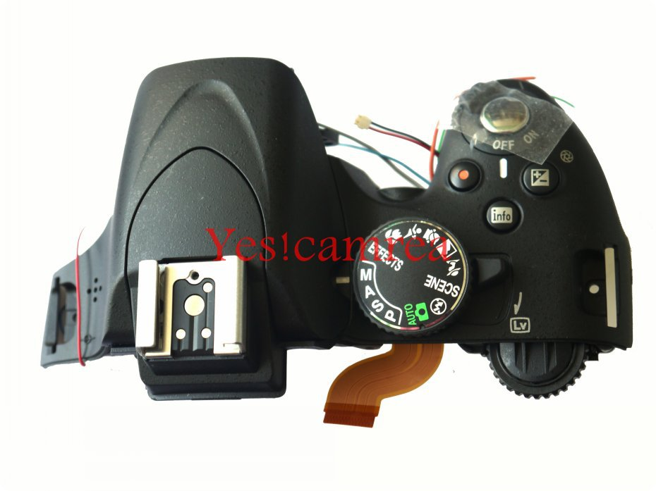 Original D5100 Top Cover For Nikon D5100 Camera repair parts