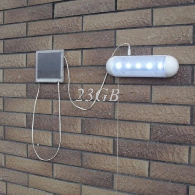 Schuur Licht Muur Pull Lamp Zonne energie LED Corridor Tuin Yard ...
