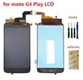 For Motorola Moto G4 Play LCD Display With Touch Screen Digitizer Assembly Replacement Parts 4.8'' inch + Kits Free Shipping