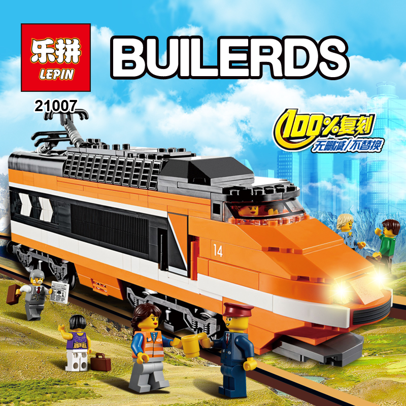 new lepin 21007 1351Pcs the legoing Out of print, the sky train Model Building Kits Blocks Bricks Toys Compatible With 10233 lepin 21004 ferrarie f40 sports car model legoing building blocks kits bricks toys compatible with 10248