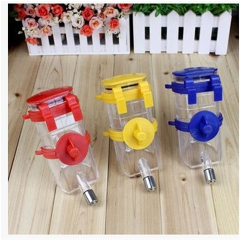 Portable Dog Cat Portable Carbon Filter Water Bottle: New Portable Pet Drinking Fountain Dog Cat Wall Mounted