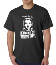 Newest 2018 Proud To Be A Friend of Dorothy t-shirt LGBT FOD GAY ICON QUEER MRS KING OZ Printed T Shirts Mens Streetwear