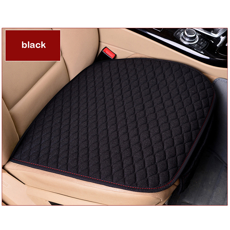 XWSN Linen car seat cover cushion suitable for 99% of the auto four seasons universal comfortable and breathable Car accessories-in Automobiles Seat Covers from Automobiles & Motorcycles