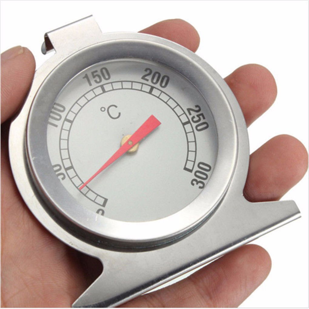 Dial-Thermometer Temperature-Gauge Oven-Cooker Stainless-Steel Mini Home Kitchen Food title=