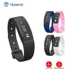Teamyo Smart Wristband blood pressure Watch Sports Fitness bracelet Activity tracker Smartband Heart Rate Monitor Smart Bracelet