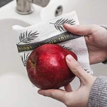 Multifunctional Dish washing Cloth Kitchen Anti-grease Wipping Rags Efficient Cleaning Home Washing Tools