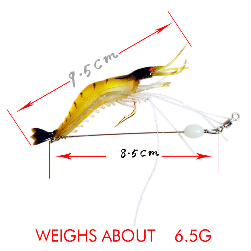 10pcs Hard Lure 6 Segments Lure Swimbait Crankbait Jointed Fishing Lure Bait Fishing Hooks Sea/Fresh Water 9.5cm 6.5g