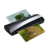 A3 13inch Hot and Cold Thermal Laminator Machine Width Photo Paper Quick Warm up Fast Laminating Speed with Pouch Board