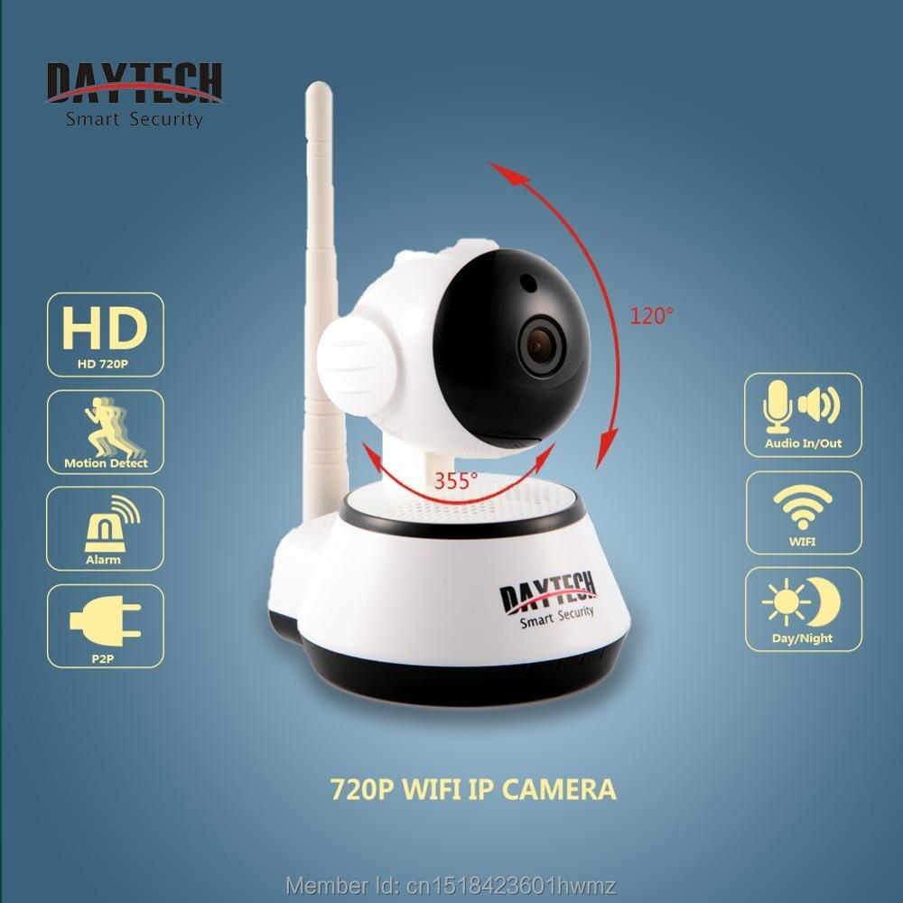 Daytech Wifi IP Caméra Night Vision Détection de Mouvement P2P Wifi Moniteur Réseau CCTV sécurité À La Maison Caméra Mobile À Distance Cam DT-C8815