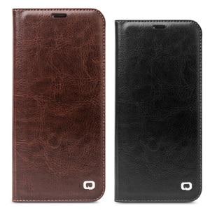 Image 5 - Case Flip עור אמיתי עבור Samsung Galaxy S8 QIALINO ארנק תיק כיסוי טלפון דק במיוחד לגלקסי S8 Plus עבור 5.8/6.2 inch