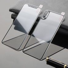 3D Curved Edge Front+Back Tempered Glass For iPhone X Full Screen Protection Replacement C
