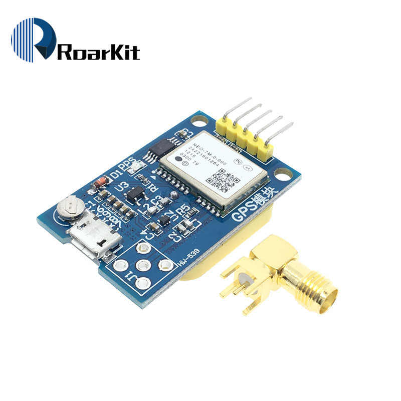 GPS Neo-7m Satellite Positioning Module Development Board NEO-7M 7M for Arduino STM32 C51 51 MCU Microcontroller