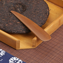 bamboo tea handmade bamboo knife needle knife cone Japanese tea cakes with unsealing knife zero points