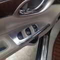 Para Nissan Sentra 2013 2015 ABS chrome interior maçaneta braço traseiro guarnição acessórios do carro 4 pcs frete grátis