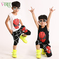 2016 summer Teenage  Boys Clothing Sets Spider Man Kids Boys Clothes  Sleeveless tShirt+knee length pants for baby boy 3-10 year