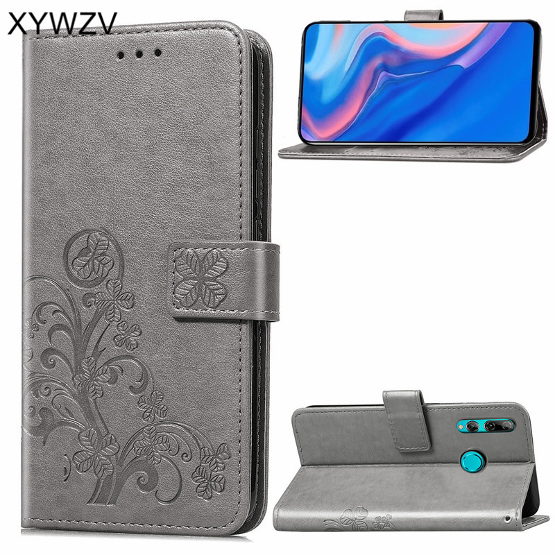 Huawei Y9 Prime 2019 Case Soft Silicone Filp Wallet Shockproof Phone Bag Case Card Holder Fundas For Huawei Y9 Prime 2019 Cover-in Flip Cases from Cellphones & Telecommunications