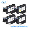 Pour tête d'impression HP 91 C9460A C9461A C9462A C9463A tête d'impression pour imprimante HP Designjet Z6100 Z6100ps (MBK/C M/Y LM/LC PBK/LGY)