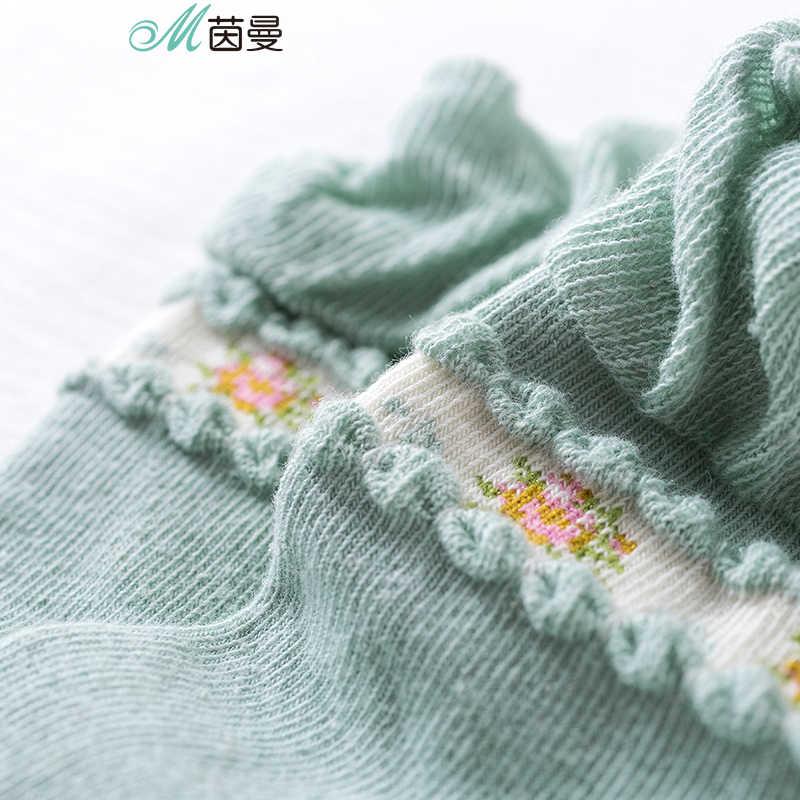 をインマン 2019 新着フラワー刺繍スポーツスタイルレディーガール甘い脱臭女性綿の株式