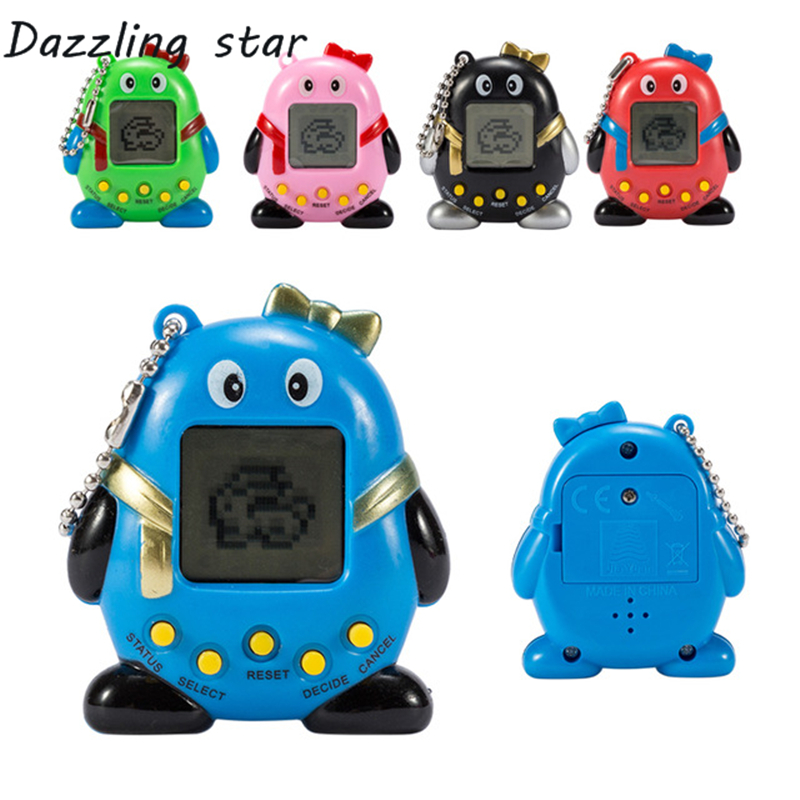 Hot ! Tamagotchi Electronic Pets Toys 90s Nostalgic 168 Pets In One Virtual Cyber Pet Toy 6 Style Tamagochi Penguins Toy