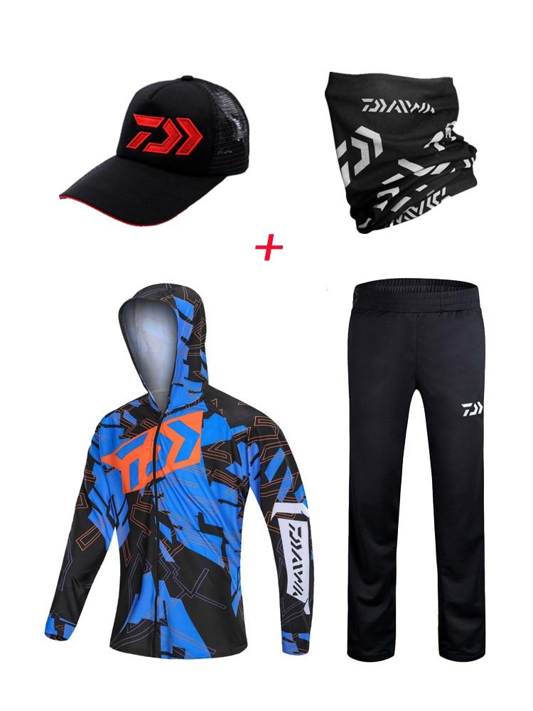 2019 New Fishing Clothing Anti-uv Jacket Outdoor Fishing Clothes Men Quick Dry Fishing Shirts Anti-uv Breathable Fishing Suit