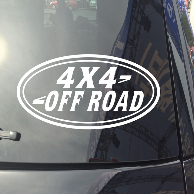 4x4 off road car decal sticker vinyl fit for land rover ranger rover die cut no