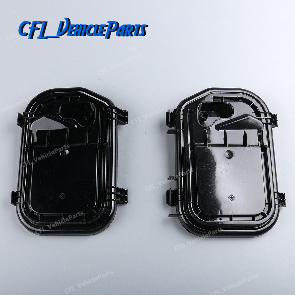 Pair Headlight Cover Protective Cap L+R 4F0941159 4F0941158 For Audi A6 2005-2011 A6 Allroad Quattro 2007-2011 RS6 2008-2011