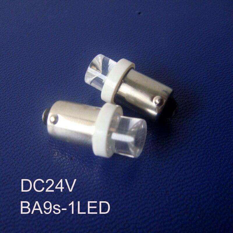 Высокое качество BA9S 24 В светодиодное освещение ba9s водить авто лампы светодиодные BA9S световой сигнал, индикатор, контрольная лампа Бесплатн...