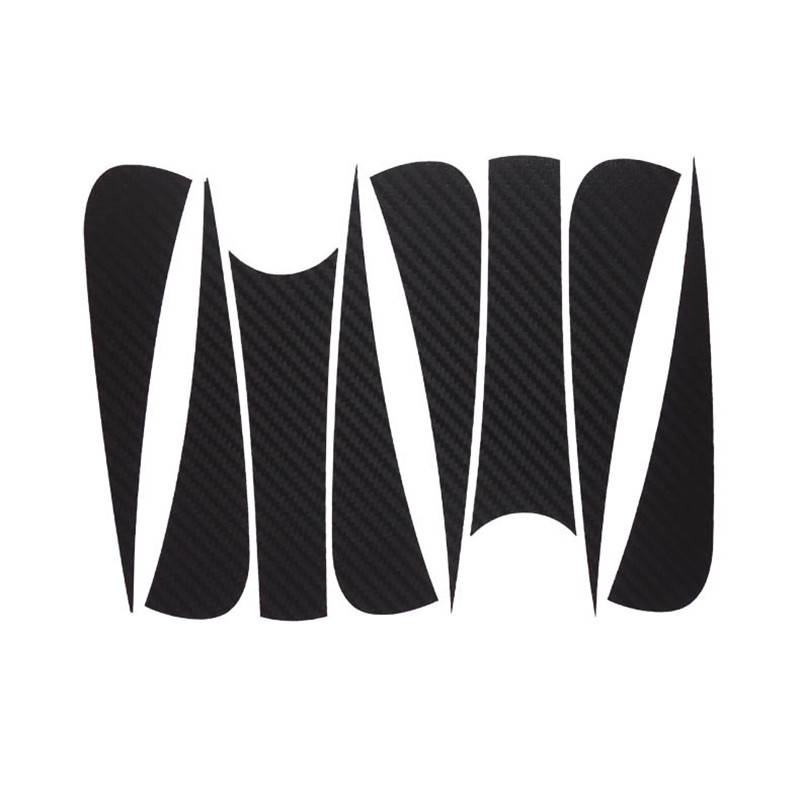 Savanini Car-Styling 1set 17 Inches Carbon Fiber Wing Wheels Mask Decal Sticker Trim For Chevy Cruze D Style