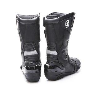 Image 2 - Arcx botas de motocicleta, botas de alta qualidade, duráveis, confortáveis, para pilotos, motocicleta, turismo, profissional