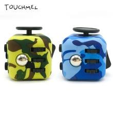 3 3cm Antistress Cube Stress Relief Toy Original Camouflage Fidget Cube