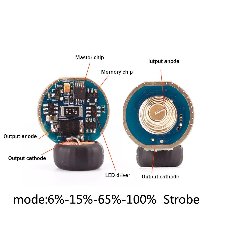 VG15 SF31 pilote 5 Modes Circuit imprimé Anti-inverse LED pilote puce mode mémoire fonction