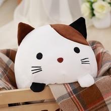 30cm Baby playing Creative Kawaii Plush Cat Toys Soft Stuffed Down Cotton Pillow Cartoon Animal Kids Doll Birthday Gift