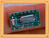 Free Shipping!!! Learning four-channel remote control receiver board / Quad wireless receiver module / superheterodyne