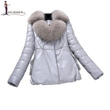 2018 Direct Selling Time-limited Genuine Leather Jacket Jaquetas Feminino Jaqueta Couro Feminina Women's Leather Jacket Xy670