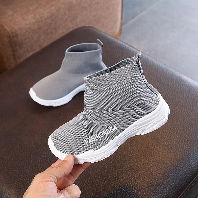 Mesh Knit Non-Slip Toddler Sneaker 4